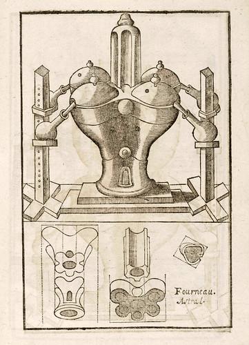 007-Horno alquimico-Le vray et methodiqve covrs de la physiqve resolvtive 1657