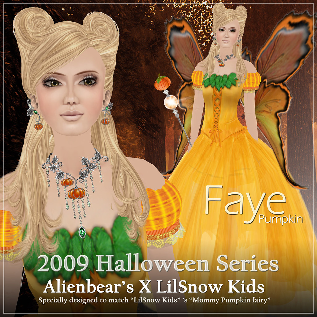 Faye Pumpkin poster