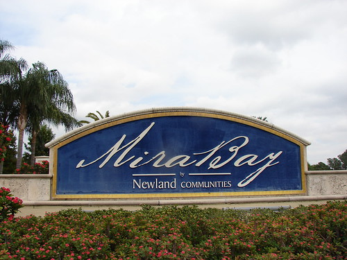 MiraBay's Boat lift On The Lagoon's Apollo Beach Florida