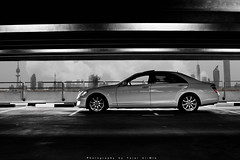 S-Class (Talal Al-Mtn) Tags: red bw white black tower cars car clouds canon eos rebel mercedes benz automobile parking gear s automotive f1 class full mercedesbenz automatic manual rims mb amg 2007 xsi q8 photograpy s500 sclass kwt s63 s350 canon450d lm10 inkuwait talalalmtn  bytalalalmtn