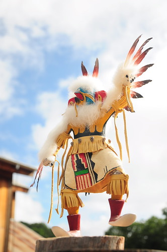 Behold the power of the Kachina. This is Eagle Dancer from the Four Corners area of the Southwest.