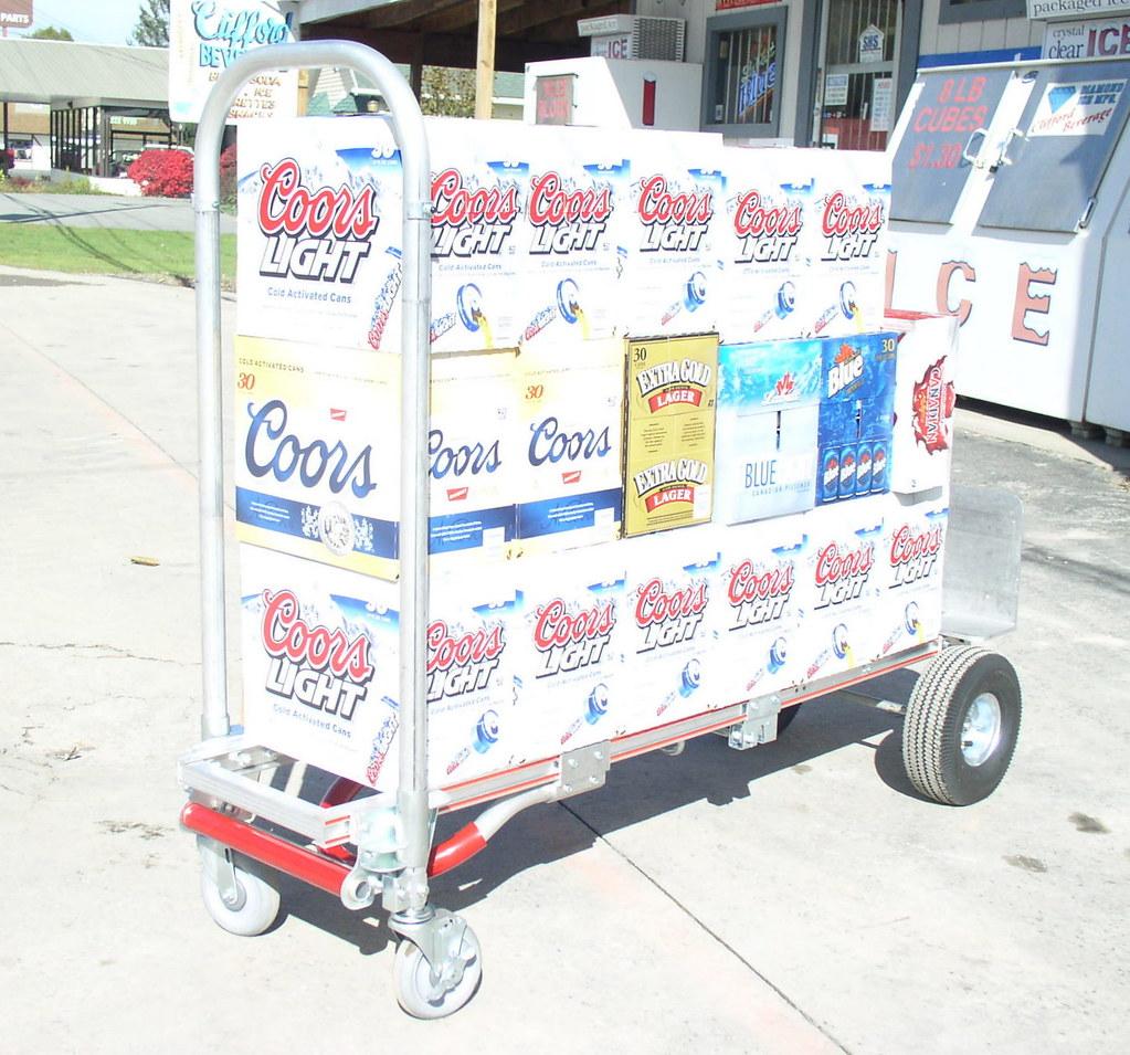 Coors Light beverage delivery