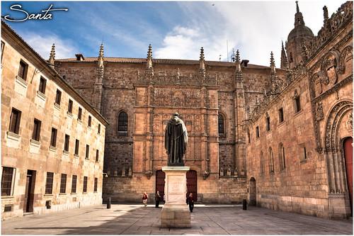 Fachada Universidad Salamanca