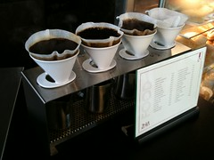 Four-cone pour-over station