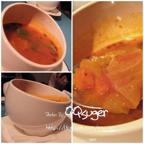 你拍攝的 蔬菜湯。