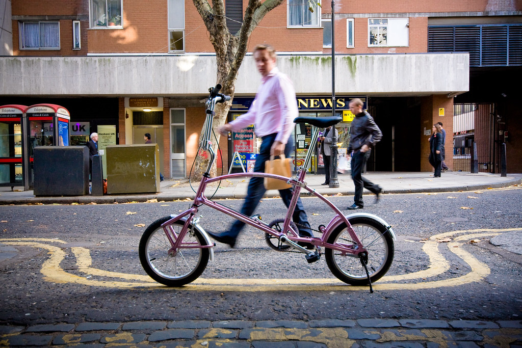 The World S Best Photos By Bigfish Folding Bike Flickr Hive Mind