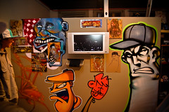 Gift 2 Gab (DonaldM Photography) Tags: show 2 art graffiti gallery glare force gift to doc 129 gab tha ventilation doper adequate iball drif