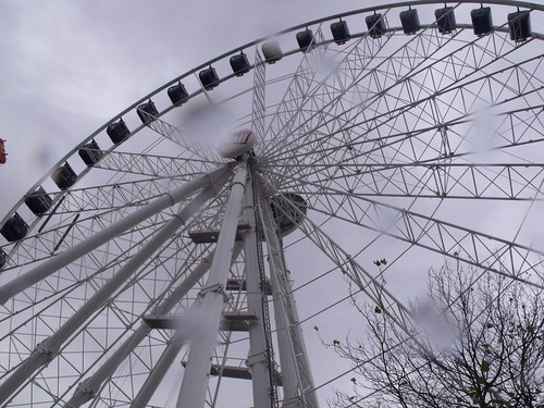 Birmingham Big Wheel in the rain