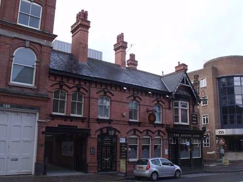 The Queens Arms - public house - Newhall Street, Birmingham