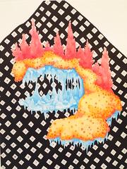 """""""Asteroid #2"""" 2009 Chobbs (charleswesleyhobbs) Tags: art watercolor charles hobbs"""