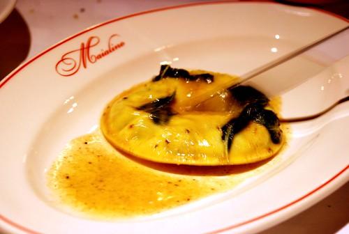 Raviolo di Uvolo @ Maialino...