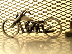 Ironhead Sporty nuts and bolts metal sculpture (3)