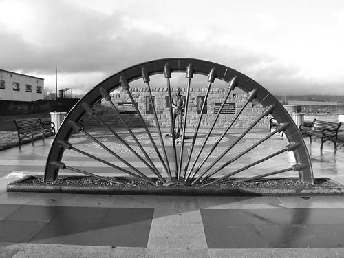 Auchengeigh miner's memorial 1