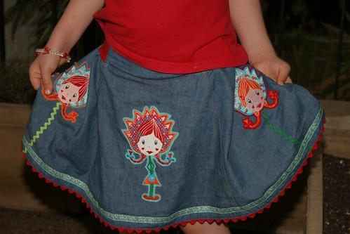 tulipina skirt