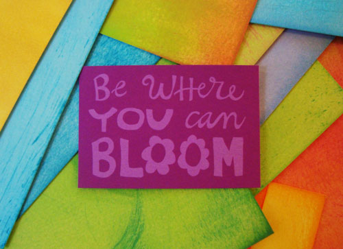 be-where-you-can-bloom