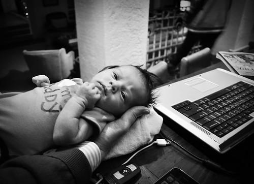 tech baby.