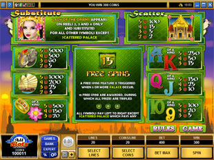 free Lady of the Orient slot mini symbol