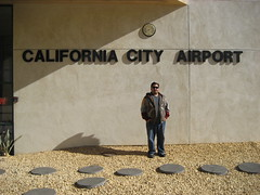 James at the California City Airport. (11/07/2009)
