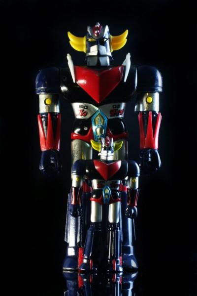 Popy Chogokin DX Grendizer and Spacer
