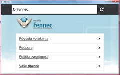 About (King Brian) Tags: mobile firefox browser browsers sl slovenia fennec slovenian slovene