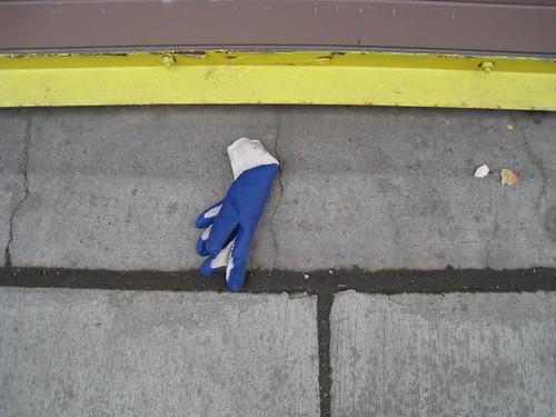 Lost Blue Glove #2