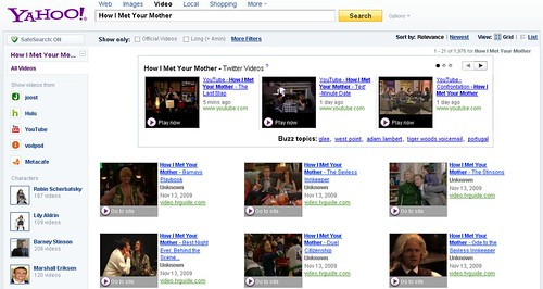 video search tv refiner