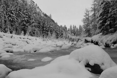 Freddo ! (Fabius_climbing) Tags: val neve bianco freddo soe torrente roseg