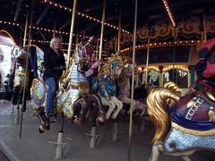 Le Carrousel de Lancelot (Disney Dan) Tags: pictures travel winter vacation paris france halloween october europe disneyland eu carousel disney 2009 fantasyland carrousel disneylandparis dlp themeparks disneylandresortparis dlrp disneylandpark disneyvacation disneypictures parcdisneyland disneyparks disneyphotos lecarrouseldelancelot lancelotscarrousel thecarrouseloflancelot dlphal2009