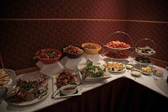 Xmas party (Halans) Tags: vegas food office sydney casino buffet xmasparty c2p vegasnights xmasofficeparty xmasparty09