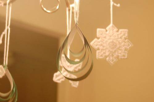 paper teardrops
