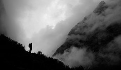Nepal - Towards Machhapuchhre... (Mike.Trent) Tags: nepal mountains silhouette trekking fire hiking altitude nikond100 abc d100 annapurnacircuit annapurna himalayas mbc 24120mm machhapuchhre annapurnabasecamp machhapuchhrebasecamp annapurnasanctuary machapuchre 24120mm3556 lpsilhouettes