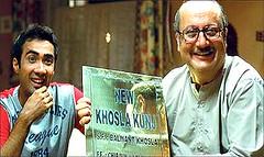 [Poster for Khosla ka Ghosla with Khosla ka Ghosla, Dibakar Banerjee, Boman Irani, Anupam Kher, Parvin Dabas]