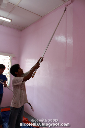 painting the other wall