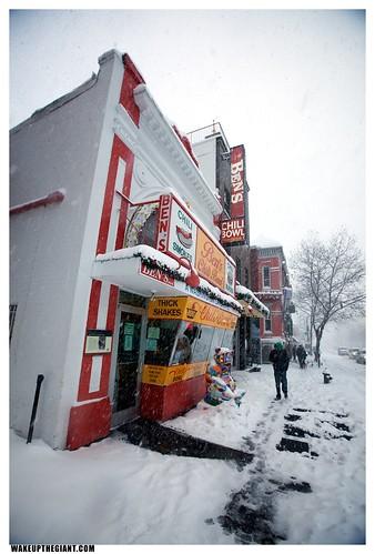 U Street Snowpocalypse