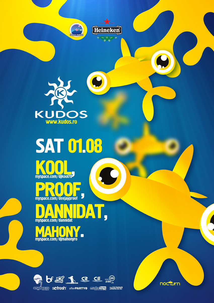 kudos beach poster - kool, proof,...