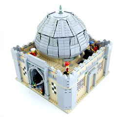 Welcome to Persia! (Shadow Viking) Tags: castle public bath lego iran middleeast persia andreas medieval baths dome arabia someplace princeofpersia bathhouse araby jayko cccvii frakeuropep cccviieasternlife