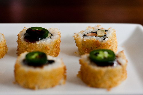 Panko-Crusted Alaska Roll
