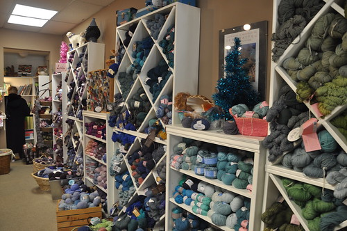 Wall of yarn... heaven
