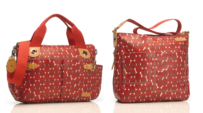 Retro Dot Red Bags by storksak