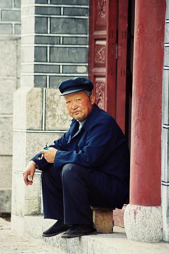 Lijiang Naxi man