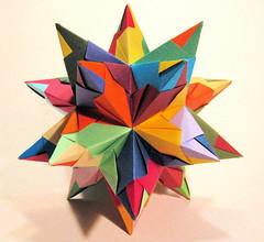 Bascetta Star (origami00023) Tags: star origami bascetta