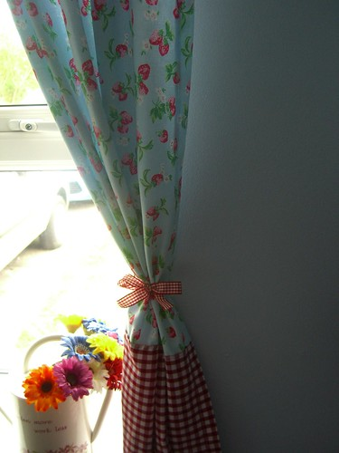 Cath Kidston Fabric Curtains by Aunt Angie.