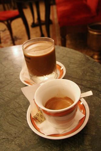 Caffe Espresso & Iced Cappuccino