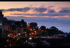Madeira Sunrise (RobbieB88) Tags: sunset sea sun holiday portugal sunrise hotel porto santos promenade madeira funchal pestana pestanapromenade