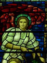 Angel (Aidan McRae Thomson) Tags: tamworth church staffordshire stainedglass preraphaelite henryholiday angel