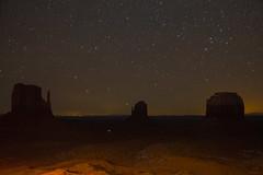 Night Sky over Monument Valley, Utah-Arizona, 05 (raelala) Tags: 2016 navajonationreservation arizona canon2470mm canon5dmarkiii canoneos5dmkiii canoneos5dmk3 december december2016 longexposure monumentvalley navajonation navajonationtribalparks navajotribalpark nightphotography nightsky photographybyrachelgreene rachelgreene roadtrip somuchfuckingmajesty stars thatlalagirl thatlalagirlphotography thatlalagirlcom travel utah westcoast
