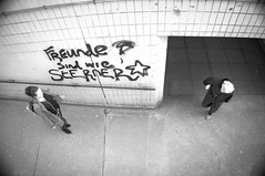 52/365 Message (denise.ferley) Tags: uk urban underground england 3652017 365 bw blackandwhitephotography life city citylife candid peoplewatching people pavement thisisengland oneaday norwich graffitti