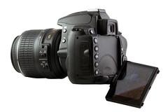 Nikon D5000 - Flip LCD