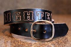 336 (amina.munster) Tags: leather belt painted accessories buckle personalized beltbuckle leatherbelt kyodtcom customleatherbelt