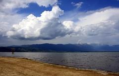Lake Dojran, ( ), (  ) (cuckove) Tags: lake beach nature clouds canon landscape macedonia lakescape ezero makedonija doirani  belasica dojran  platinumphoto ysplix beles yourcountry canon1000d dojranlake  dojranskoezero  cuckove